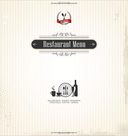 bistro: Restaurant menu design