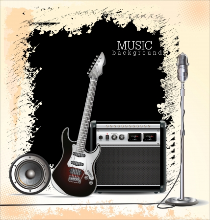 Music background Stock Vector - 19728035