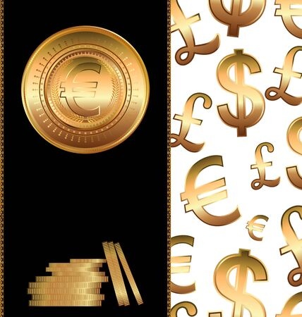 libra esterlina: Fondo de dinero Vectores