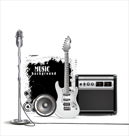 Music background Stock Vector - 19728030