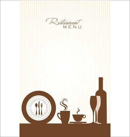 dinner party: Restaurant menu design