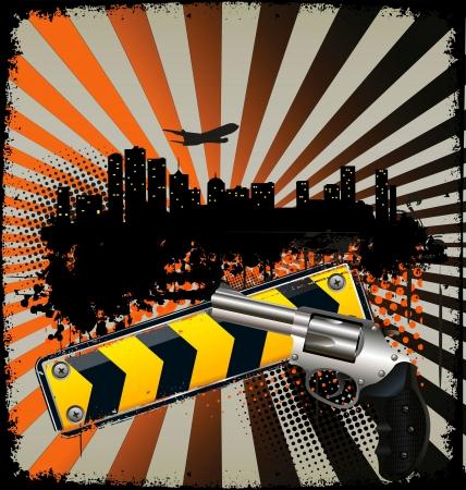 gangster background: Urban background