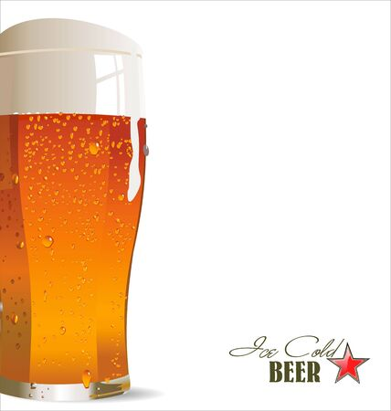 beer house: Ice cold beer background