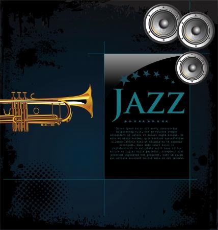 mouthpiece: Jazz background Illustration