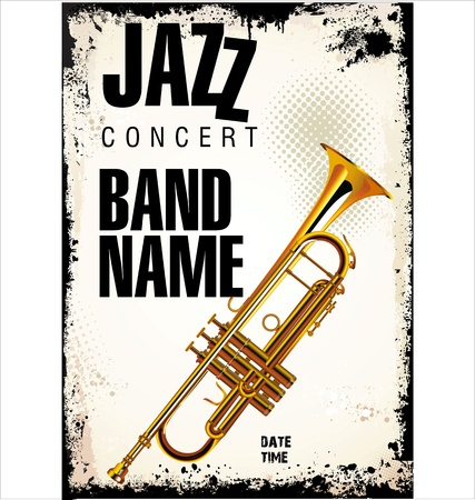fanfare: Jazz concert background