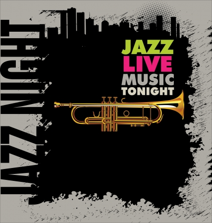 Jazz background Stock Vector - 20324422