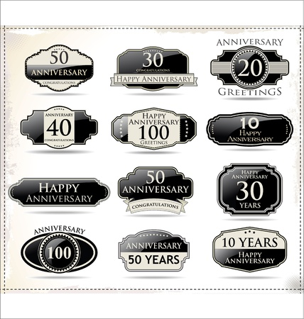 50 to 60: Anniversary black labels