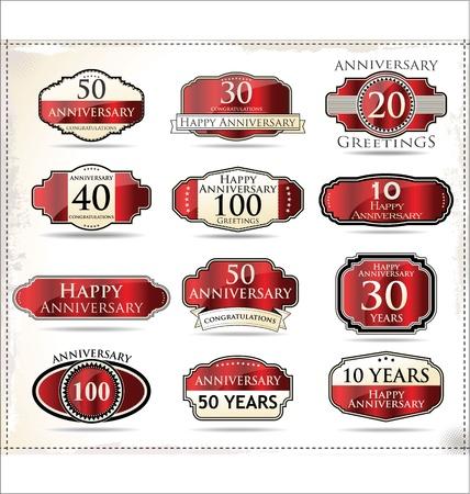 20 30: Anniversary design label