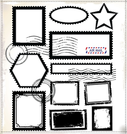 post stamp: Posta set bollo