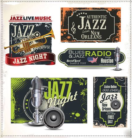 jazz music: Jazz music retro labels