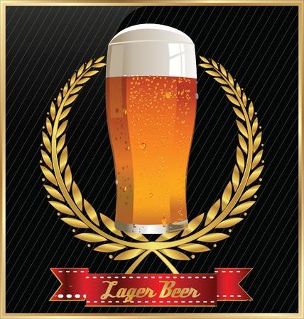 dark lager: Beer design