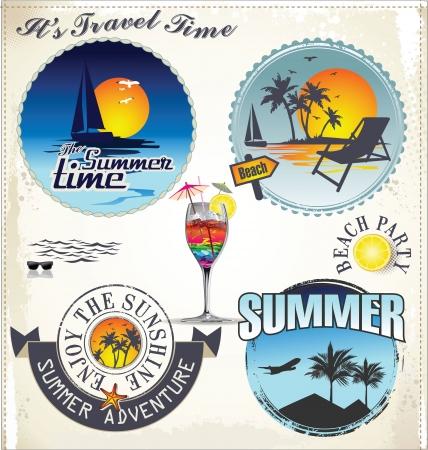 rosa dei venti: Vacanze estive ed etichette di viaggio