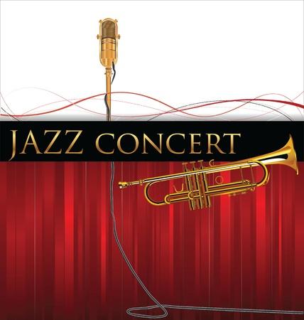 fanfare: Jazz background Illustration