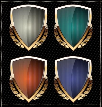 escudo militar: Escudos Vectores