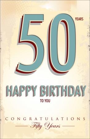 70 80: Anniversary background Illustration