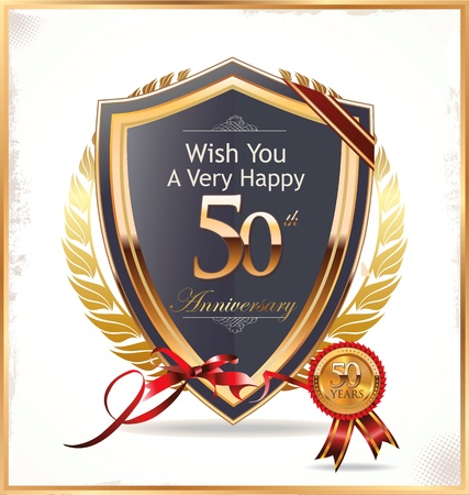 50 to 60: Anniversary golden label
