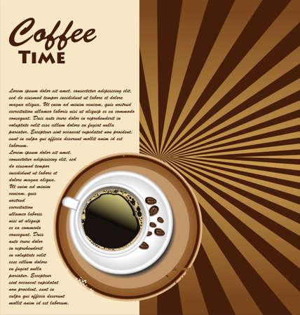sip: Caf� de fondo retro