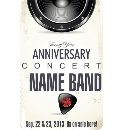 music event: Concert poster