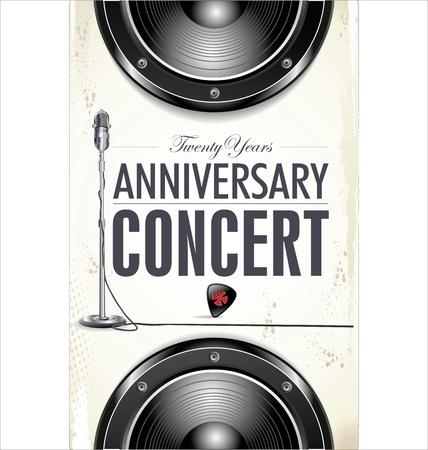 metal music: Concert poster