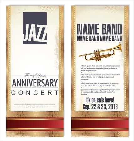 resonancia: Billete o volante para el festival de jazz