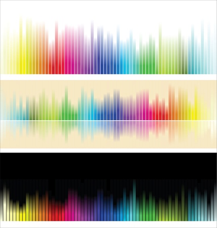 Different colorful background  Vector