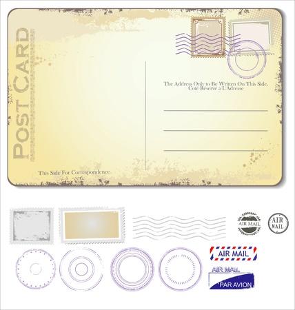 postal vintage: Postal de la vendimia