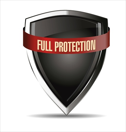 Protected shield Stock Vector - 22069232