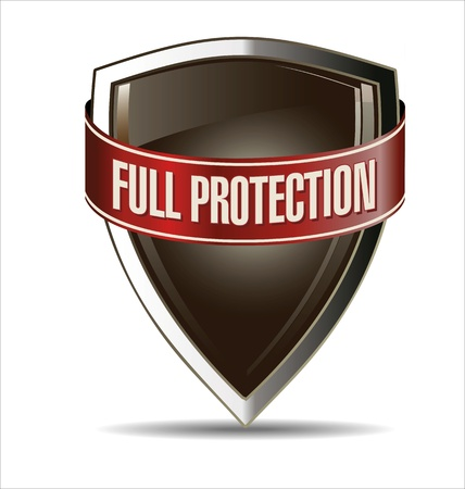 Protected shield Stock Vector - 22069240