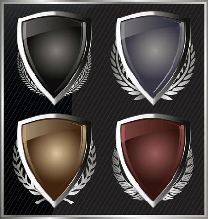 Shields Stock Vector - 22069252