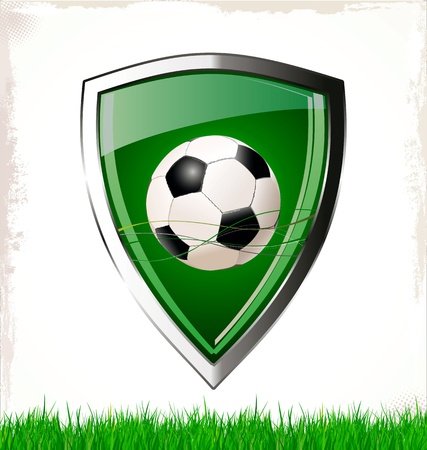 Soccer sign Vector