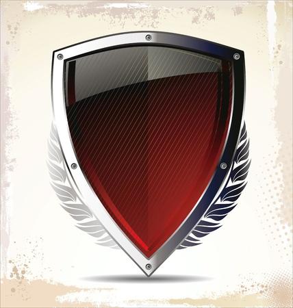 antivirus: Shield Illustration