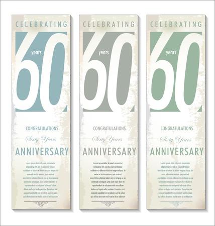 60 years: 60 years anniversary background