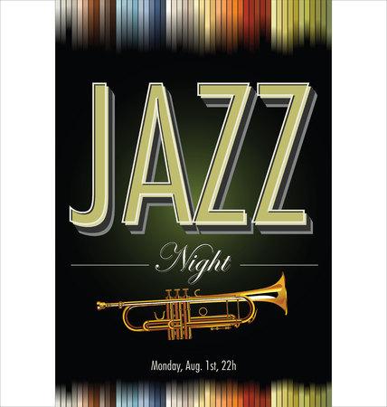 the concert poster: Jazz concert poster