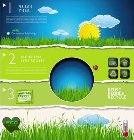 Nature background Stock Vector - 22775402