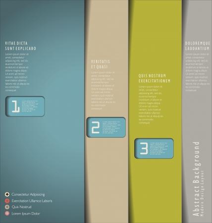 website: Modernes Design-Vorlage Illustration