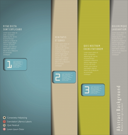 web technology: Template Design Moderno