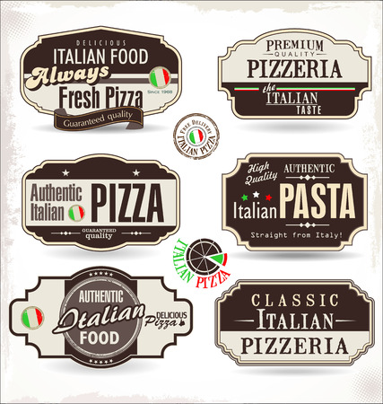 pizza food label