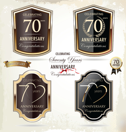 70: 70 years anniversary golden label