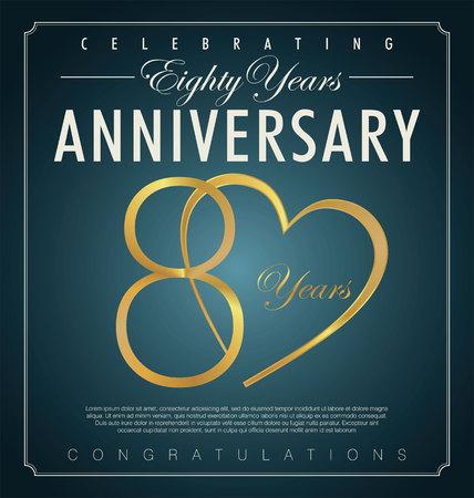 80 years: 80 years anniversary background