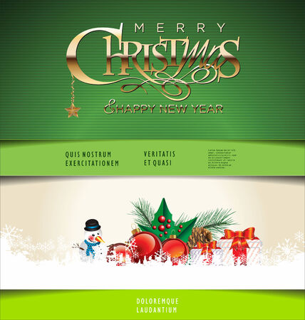 fonts year: Christmas background
