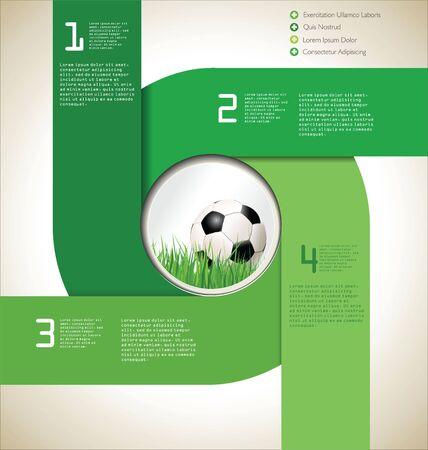 football net: Modern Soccer background
