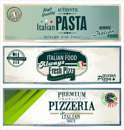 pizza ingredients: Vintage pizza background