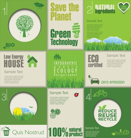 eco: Modern green ecology design template