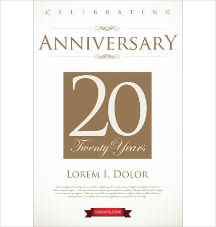 anniversario matrimonio: Anniversario background Vettoriali