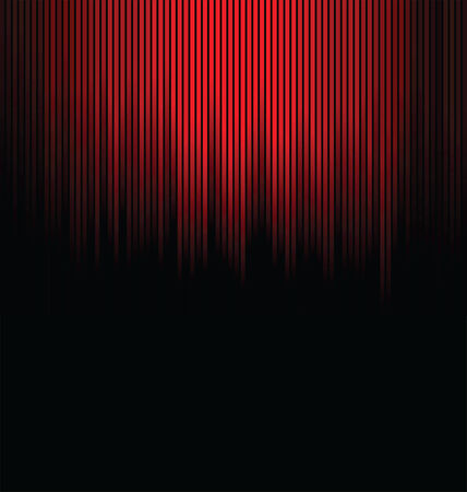 Abstract red and black background  Vector