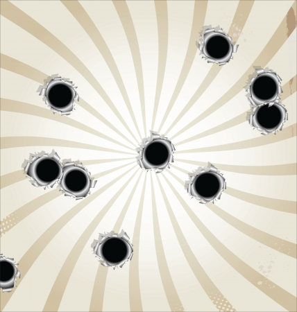 Bullet hall background Vector