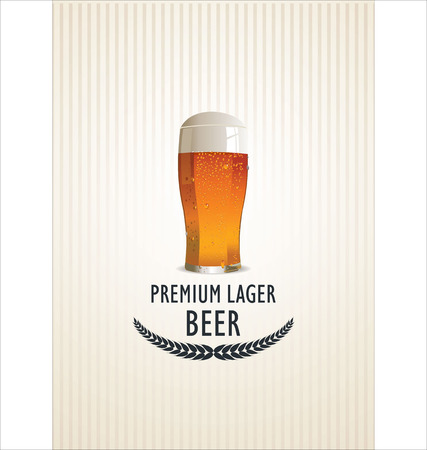 Beer background Stock Vector - 25516462