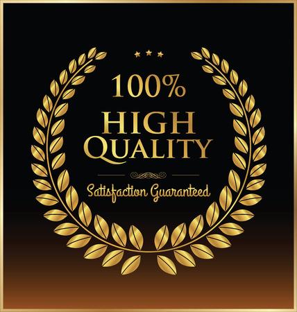 golden laurel wreath: High quality golden laurel wreath