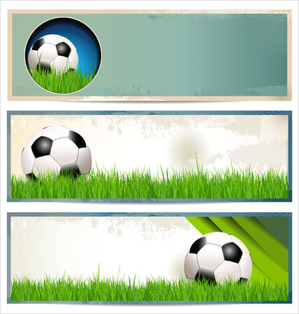 sporting activity: Soccer background Illustration