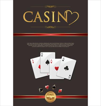 fortune wheel: Casino background